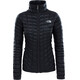 The North Face W's Thermoball Insulated Zip In Jacket Black